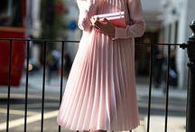pleated dresses & skirts