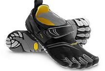 Treads for his foots / Shoes for the young male.