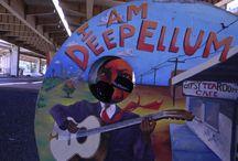 Deep Ellum Dallas / Hot Hats & Sweet Street Art