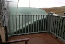 Balcony and Patio Privacy Screens / A balcony or patio can really come to life when you use Screen Plus exterior glass or timber privacy screens,