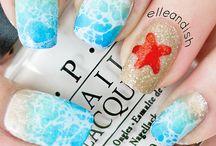 Nail Art - Beach Nails
