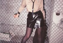 Mood / trad goths, 80s, punk, androgyny, silhouettes, modern goths