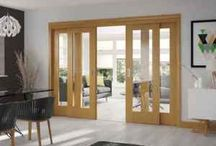 Internal Folding Sliding doors / Internal bi folding doors offer an incredibly versatile door choice for any home, so if you want the appearance of an open plan home with the practicality of a closable partition, combine the best of both worlds with one of our internal sliding doors. By choosing one of our internal bi folding doors you can enjoy the maximum amount of space whether you choose to keep your doors open or closed.