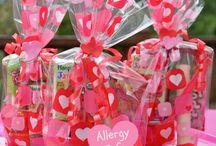 Peanut free valentines treats