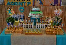 Inspiração para festa: Phineas and Ferb
