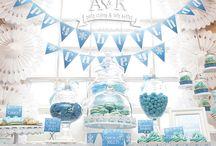 A&K Lolly Buffet {Winter Wonderland 7th Birthday Dessert Table) / http://aandklollybuffet.com.au/disney-frozen-7th-birthday-dessert-buffet/