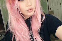 Barvené vlasy