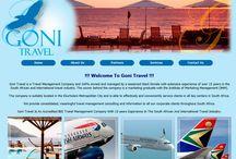 GONI TRAVEL MANAGEMENT Website Design