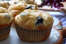 muffin salati von olive e gorgonzola