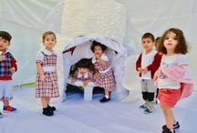 A day in Igloo-Winter Camp-Day 2 / A trip and a stay in the igloo… A feel of winter at White Fields Nursery…  They dressed the snowman hiding in the igloo. Snow flakes falling every where... https://whitefieldspreschools.com/2016/12/13/a-day-in-igloo-winter-camp-day-2/