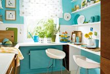 kleine küche wandfarbe