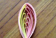 Strip paper design