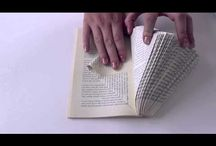 Book sculptures & folding