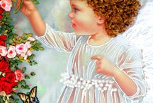 Images of silk- Angel / Picture with Angel. Silk embroidery pictures. #ideas #beautiful #silk_pictures