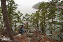 Hike Arkansas / With miles upon miles of hiking and backpacking trails, The Natural State is an obvious destination for those seeking a true getaway. #VisitArkansas / by Arkansas Tourism