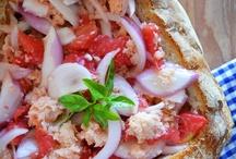 Pagnotta, Panzanella y Cazzimperio ... / Food