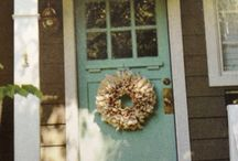 front door colors / by Ruby Nolt