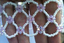 ékszerek, gyöngyfűzés / saját készítésű szép gyöngy ékszerek