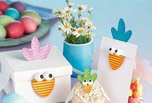 Ostern: Basteln mit Kindern / Hier findet ihr schöne Bastelanleitungen zu Ostern. Viel Spaß beim Nachbasteln und ein schönes Osterfest!