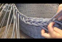 Мк плетение из газет