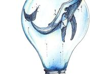 Azul dibujos