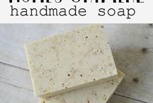 home made soaps and....