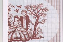 french cross stitch