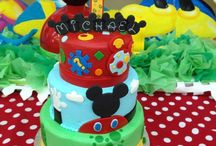 Cupcake et gâteau de fête
