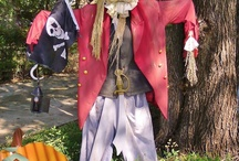 Hannah's pirate scarecrow