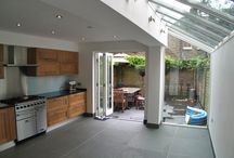 Glass-Roof Kitchen