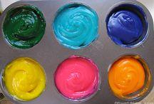 Kiddies activities / Finger paint recipe