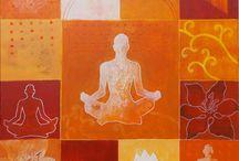 International Yoga Day Painting