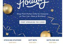 Christmas E-Mail Inspiration