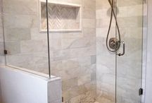 Tiling in bathroom