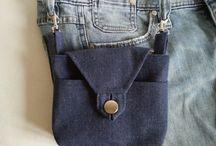 saszetki / praktyczne saszetki dopinane do szlufek spodni