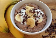 Breakfasts for Athletes / Nutritious breakfast recipes designed for athletes and health advocates.