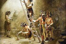 Watercolor Paintings / Watercolor Paintings from The Eddie Basha Collection