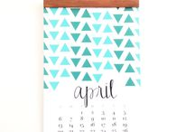 Inspiracje - kalendarze
