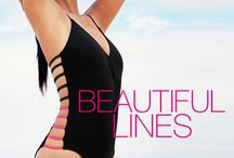 Key Trend: Strappy Suits / Beautiful Lines: Summer 2015 is all about the straps.  Shop the look: http://www.everythingbutwater.com/swimwear/browse/the-look/strappy.html