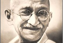 Gandhi and his Famous Quotes / by Erin Williams