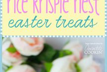 Easter rice  cups