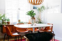 To Dine For / Dining room design ideas - Curated by Los Angeles artist Emily Keating Snyder