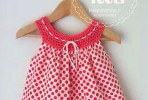 Lasten vaatteita