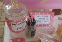 21st pink party ideas