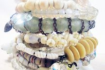 Inspired by the seashore / A collection of beautifully summery pieces of jewellery, inspired by all things seashore.