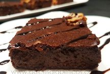 brownie para diabeticos
