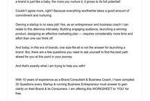 Business Startup Worksheets