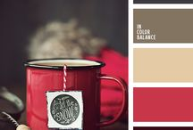 Colors combinations / Lovely colors combinations to apply in designs, frames, furniture and walls.