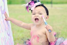 Baby Girl's 1st Birthday!! / by Sylvia Pittman