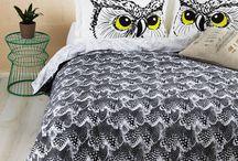 Owl pillowcase